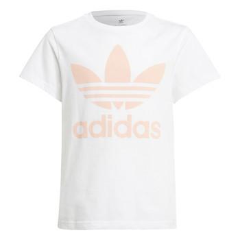 Υφασμάτινα Παιδί T-shirt με κοντά μανίκια adidas Originals VAGUO Άσπρο