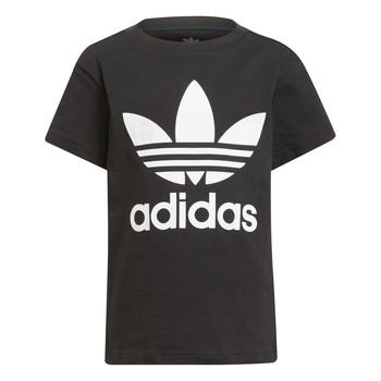 Υφασμάτινα Παιδί T-shirt με κοντά μανίκια adidas Originals CHANTIS Black