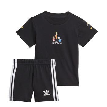 Υφασμάτινα Αγόρι Σετ adidas Originals COTES Black