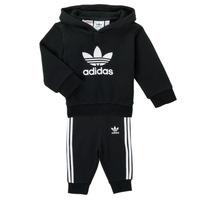 Υφασμάτινα Παιδί Σετ adidas Originals TROPLA Black