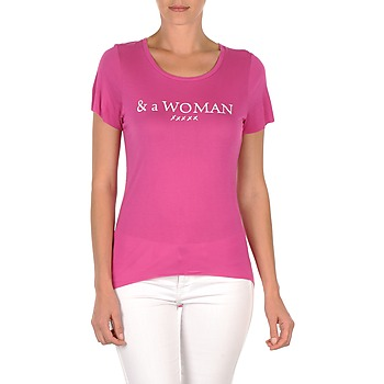 Υφασμάτινα Γυναίκα T-shirt με κοντά μανίκια School Rag TEMMY WOMAN Violet