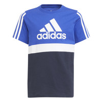 Υφασμάτινα Αγόρι T-shirt με κοντά μανίκια adidas Performance ABATIA Marine / Black