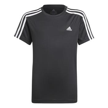 Υφασμάτινα Αγόρι T-shirt με κοντά μανίκια adidas Performance MARIONA Black