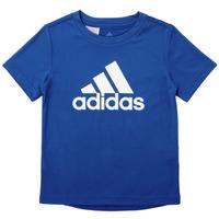 Υφασμάτινα Αγόρι T-shirt με κοντά μανίκια adidas Performance CLAUDIA Μπλέ