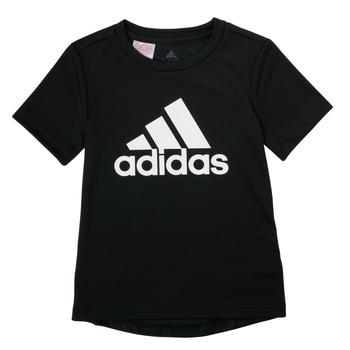 Υφασμάτινα Αγόρι T-shirt με κοντά μανίκια adidas Performance NADGED Black