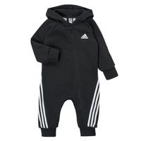 Υφασμάτινα Παιδί Ολόσωμες φόρμες / σαλοπέτες adidas Performance TOMILA Black