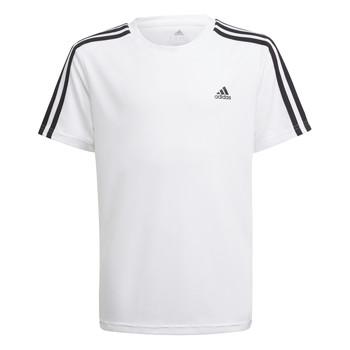 Υφασμάτινα Αγόρι T-shirt με κοντά μανίκια adidas Performance AYMERICA Άσπρο