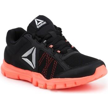 Παπούτσια Γυναίκα Fitness Reebok Sport YOURFLEX TRAINETTE 9.0 MT BS8042 black, koralowy
