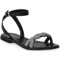 Παπούτσια Γυναίκα Σανδάλια / Πέδιλα Mosaic NERO SHINE Nero