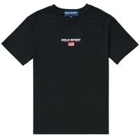 Υφασμάτινα Αγόρι T-shirt με κοντά μανίκια Polo Ralph Lauren ANNITA Black
