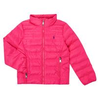 Υφασμάτινα Κορίτσι Μπουφάν Polo Ralph Lauren DERNIN Ροζ