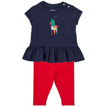 Υφασμάτινα Αγόρι Σετ Polo Ralph Lauren BETINA Multicolour