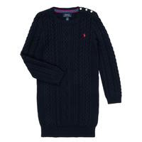 Υφασμάτινα Κορίτσι Κοντά Φορέματα Polo Ralph Lauren RURBE Marine