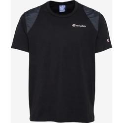 Υφασμάτινα Άνδρας T-shirt με κοντά μανίκια Champion CAMISETA HOMBRE  KK001 Black