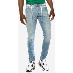 Υφασμάτινα Άνδρας Skinny jeans Brokers ΑΝΔΡΙΚΟ ΠΑΝΤΕΛΟΝΙ JEAN  ΣΤΕΝΟ ΑΝΟΙΧΤΟ ΜΠΛΕ Μπλε