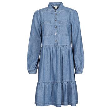 Υφασμάτινα Γυναίκα Κοντά Φορέματα Esprit COO DRESS Μπλέ