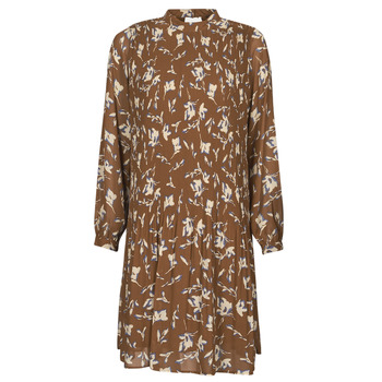 Υφασμάτινα Γυναίκα Κοντά Φορέματα Esprit PER CHIFFON PRI Brown