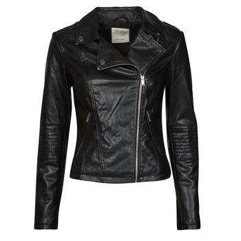 Υφασμάτινα Γυναίκα Δερμάτινο μπουφάν Esprit PU BIKER Black