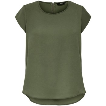 T-shirt με κοντά μανίκια Only T-shirt femme manches courtes Vic solid