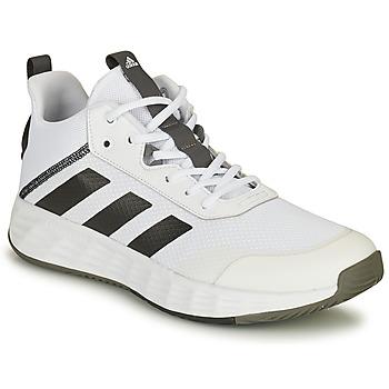Παπούτσια Άνδρας Basketball adidas Performance OWNTHEGAME 2.0 Άσπρο / Black