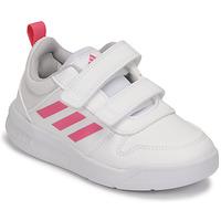 Παπούτσια Κορίτσι Χαμηλά Sneakers adidas Performance TENSAUR C Άσπρο / Ροζ