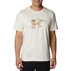 Υφασμάτινα Άνδρας T-shirt με κοντά μανίκια Columbia Clarkwall Organic Cotton Tee Blanc