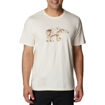 T-shirt με κοντά μανίκια Columbia Clarkwall Organic Cotton Tee