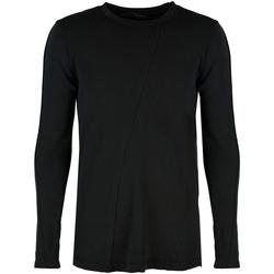 Υφασμάτινα Άνδρας Μπλουζάκια με μακριά μανίκια Xagon Man  Black