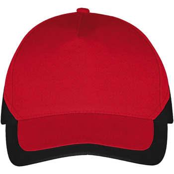Κασκέτο Sols BOOSTER Rojo Negro [COMPOSITION_COMPLETE]