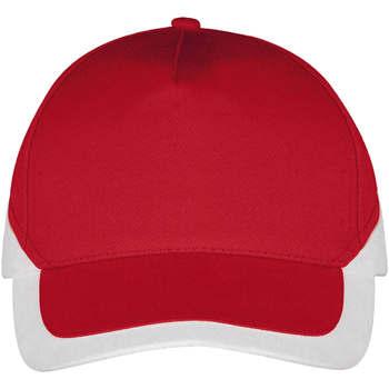 Κασκέτο Sols BOOSTER Rojo Blanco [COMPOSITION_COMPLETE]