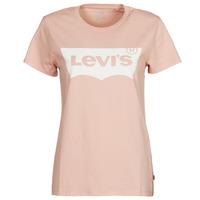 Υφασμάτινα Γυναίκα T-shirt με κοντά μανίκια Levi's THE PERFECT TEE Ροζ