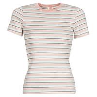 Υφασμάτινα Γυναίκα T-shirt με κοντά μανίκια Levi's SS RIB BABY TEE Multicolour