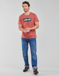 Υφασμάτινα Άνδρας Τζιν σε ίσια γραμμή Levi's 501 LEVI'S ORIGINAL Μπλέ