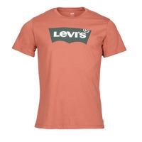 Υφασμάτινα Άνδρας T-shirt με κοντά μανίκια Levi's HOUSEMARK GRAPHIC TEE Bordeaux