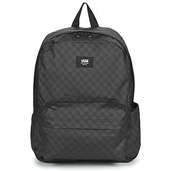 Τσάντες Σακίδια πλάτης Vans OLD SKOOL CHECK BACKPACK Black