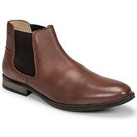 Παπούτσια Άνδρας Μπότες Jack & Jones JFW FRANK LEATHER Cognac