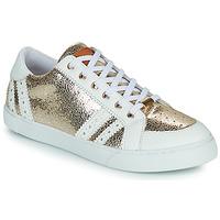 Παπούτσια Γυναίκα Χαμηλά Sneakers Les Tropéziennes par M Belarbi SUZIE Gold / Άσπρο