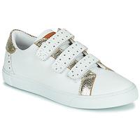 Παπούτσια Γυναίκα Χαμηλά Sneakers Les Tropéziennes par M Belarbi SUZETTE Άσπρο / Gold