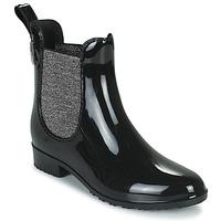 Παπούτσια Γυναίκα Μπότες βροχής Les Tropéziennes par M Belarbi RAINBOO Black / Silver