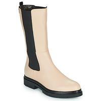 Παπούτσια Γυναίκα Μπότες Les Tropéziennes par M Belarbi SADDIE Beige / Black