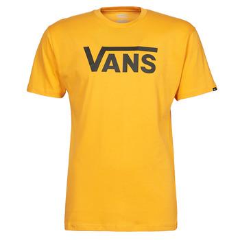 Υφασμάτινα Άνδρας T-shirt με κοντά μανίκια Vans VANS CLASSIC Yellow / Black