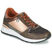 Παπούτσια Γυναίκα Χαμηλά Sneakers Les Petites Bombes CINDY Gold / Bronze