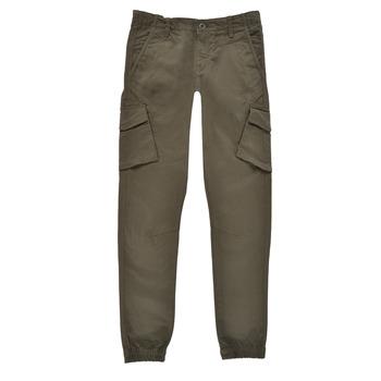 Υφασμάτινα Αγόρι παντελόνι παραλλαγής Teddy Smith BATTLE Kaki