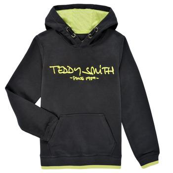 Υφασμάτινα Αγόρι Φούτερ Teddy Smith SICLASS HOODY Black