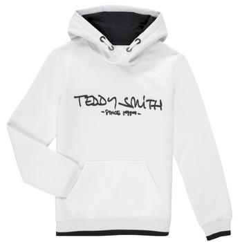 Υφασμάτινα Αγόρι Φούτερ Teddy Smith SICLASS HOODY Άσπρο