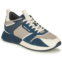 Παπούτσια Άνδρας Χαμηλά Sneakers MICHAEL Michael Kors THEO Marine / Άσπρο