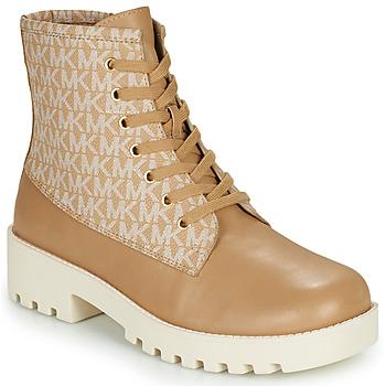 Παπούτσια Γυναίκα Μποτίνια MICHAEL Michael Kors JAX Camel