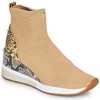 Παπούτσια Γυναίκα Ψηλά Sneakers MICHAEL Michael Kors SKYLER Camel