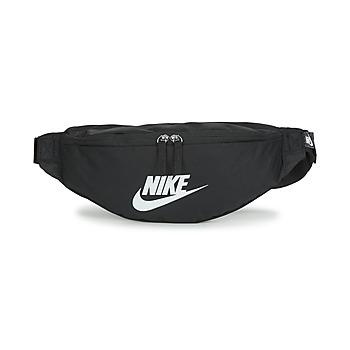 Τσάντες Μπανάνα Nike NK HERITAGE WAISTPACK - FA22 Black / Άσπρο