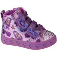 Παπούτσια Παιδί Ψηλά Sneakers Skechers Twi-Lites Mermaid Gems Rose